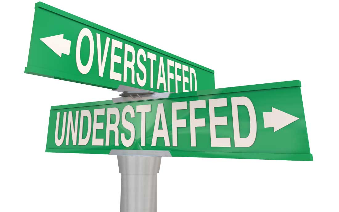Case Study: How we Determined Optimal Staffing Levels